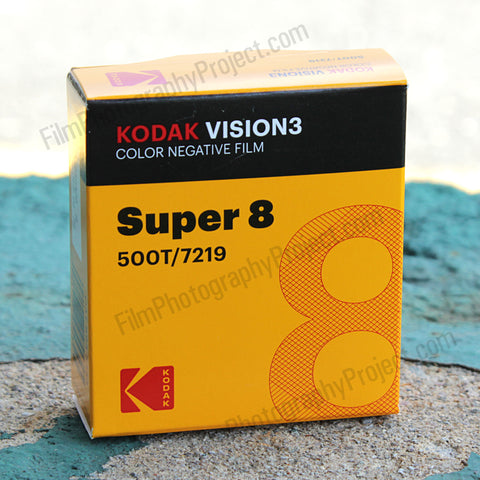 Super 8 Film - Kodak 500T / 7219 Color Negative
