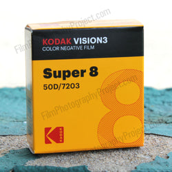 Super 8 Film - Kodak 50D / 7203 Color Negative