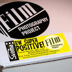 35mm BW Bulk Roll (100 ft) - Svema Super Positive Film