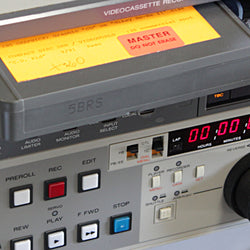 "Video Tape Encoding Services - 3/4"" U-Matic (30 min)"
