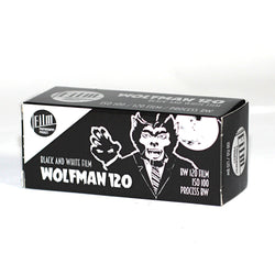 120 BW Film - WolfMan 120 (1 Roll)