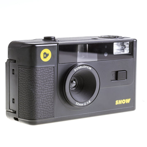 35mm Film Camera - dubble SHOW point & shoot (Black)