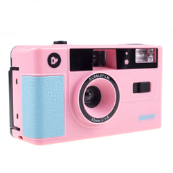 35mm Film Camera - dubble SHOW point & shoot (Pink)