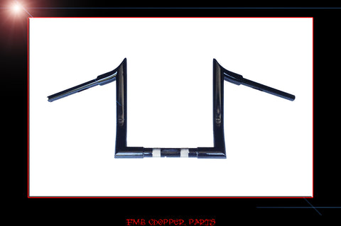 "FMB 12"" Phatt Reaper Bars for 2015 & up Harley Road Glides"
