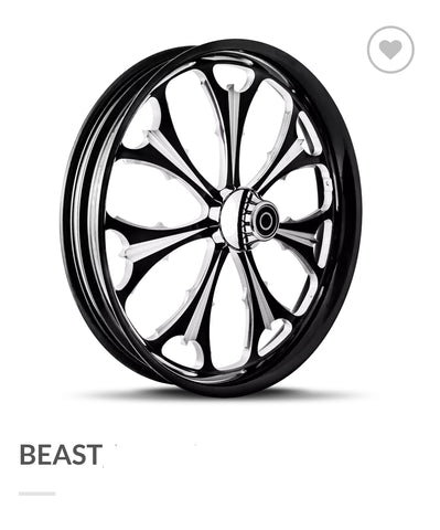 "DNA - ""Beast"" Wheel - 08-19 Touring Models w/ ABS"