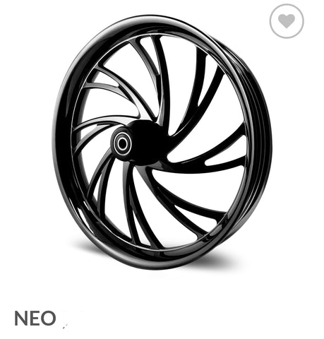 "DNA - ""NEO"" WHEEL - 08 - 19 Touring Models w/ ABS"