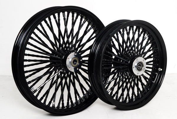 DNA Mammoth Black Out Fat Spoke Wheel Package - 2013-2019 Breakout