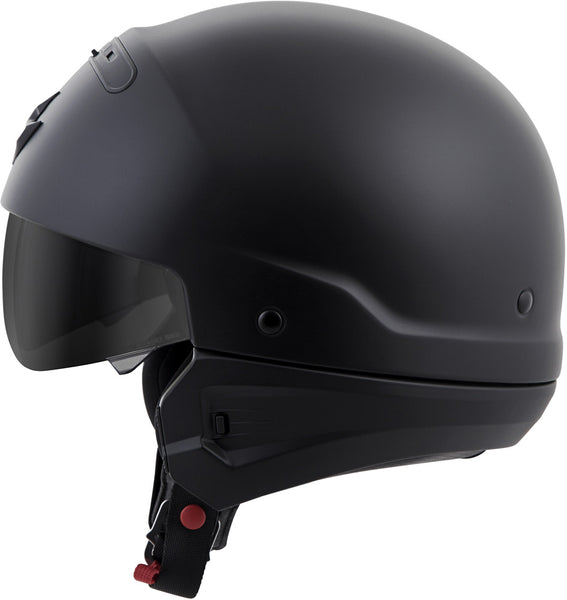 Scorpion Covert Open-Face Solid Motorcycle Helmet