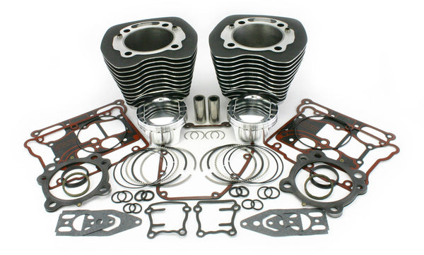 Zipper's '07-Up Twin Cam® Blueprinted Big Bore Cylinder Kits