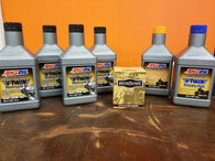 COMPLETE AMSOIL V-TWIN OIL CHANGE KIT