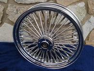 "16 X 3.5"" DNA MAMMOTH 52 SPOKE FRONT WHEEL FOR HARLEY TOURING BAGGERS 2000-07"