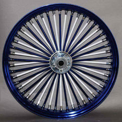 "Mammoth Fat 52 Spoke Wheel - 23"" x 3.5 for Touring Models / NO ABS"
