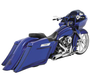 Freedom Performance Exhaust Turnout 2:1  - Touring 2014 & Up / Chrome