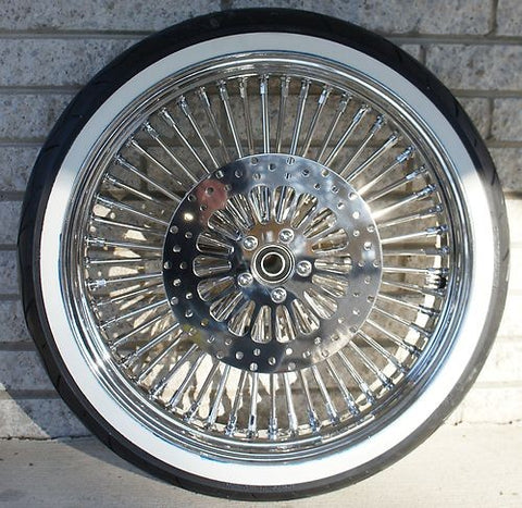 "DNA MAMMOTH WHEEL PACKAGE - 21""  / 16"" WITH WW TIRE & MATCHING FRONT ROTORS"