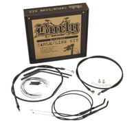 Burly Brand T-Bar Cable and Brake Line Kits