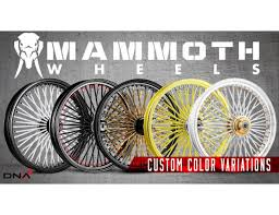 "DNA Mammoth Spoke Wheel for Victory - 21"" x 3.5"