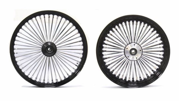 "DNA MAMMOTH FAT SPOKE WHEEL SET  -  Front 23"" & Rear 18"" Wheel, Rotors, Tires - 08 & UP"