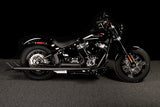 Samson Fishtails for Touring 36″  - Chrome or Sinister Black