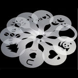 16 pieces Coffee Stencil Filter