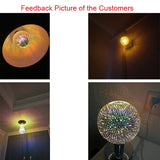 3 D FIREWORK CHRISTMAS LAMP