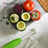 4Pcs Vegetable Spiral Cutter