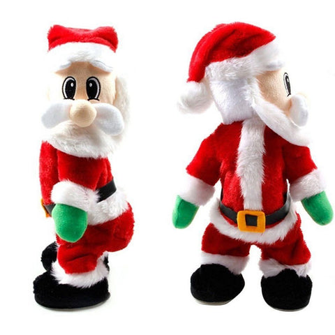 Santa Singing Electric Toy Wiggle Hip Twerking Santa Singing Electric Toy