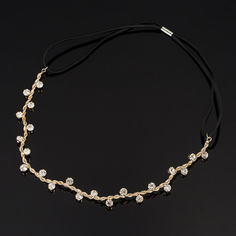 Hair Accessories Crystal Chain