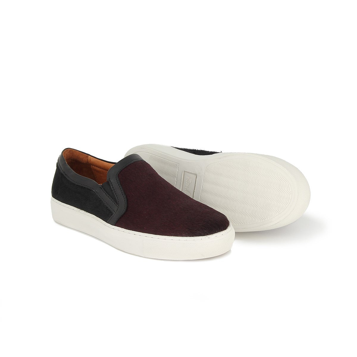 Baskets homme slip-on cuir PLAY ONE