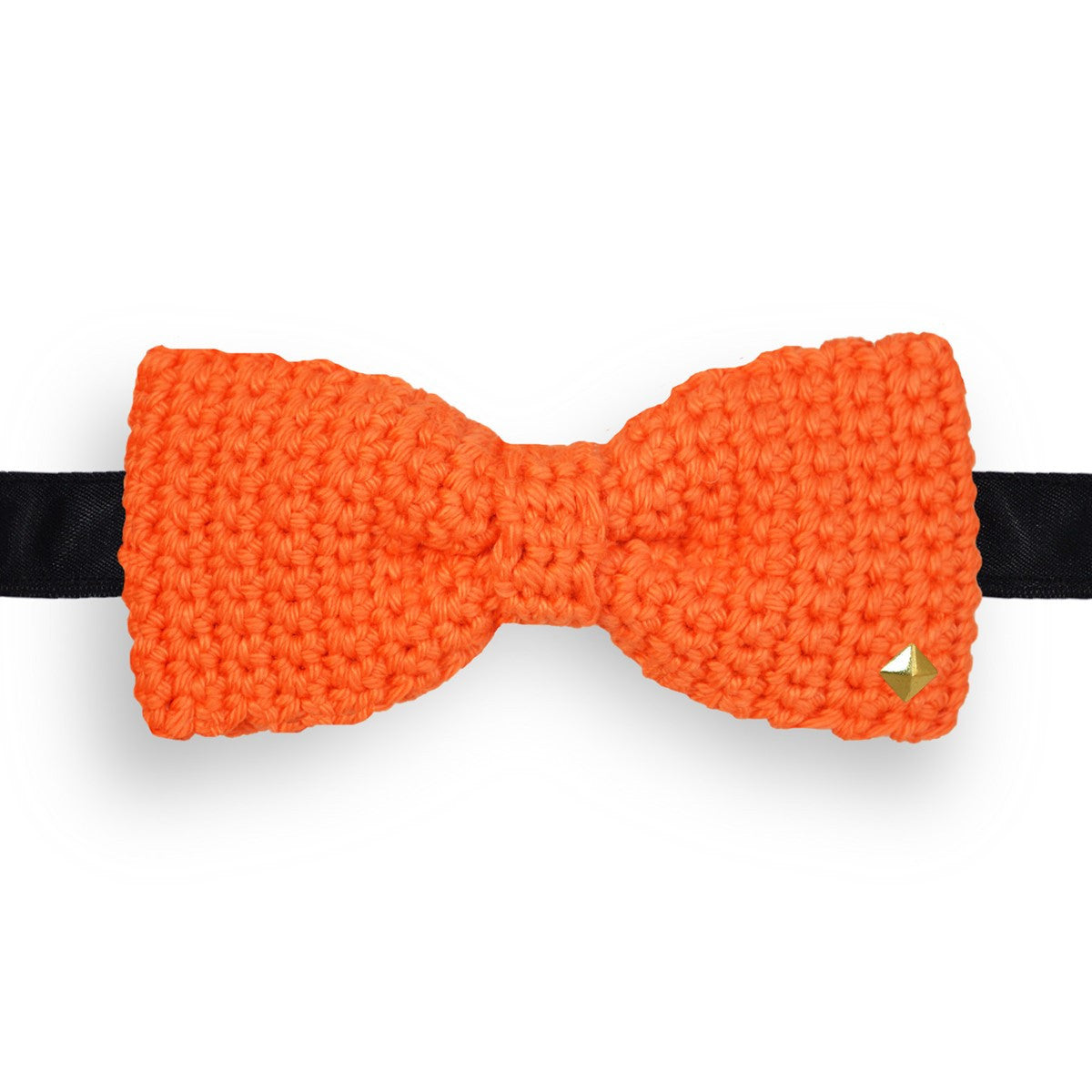 Noeud papillon ciel au crochet Zenith orange
