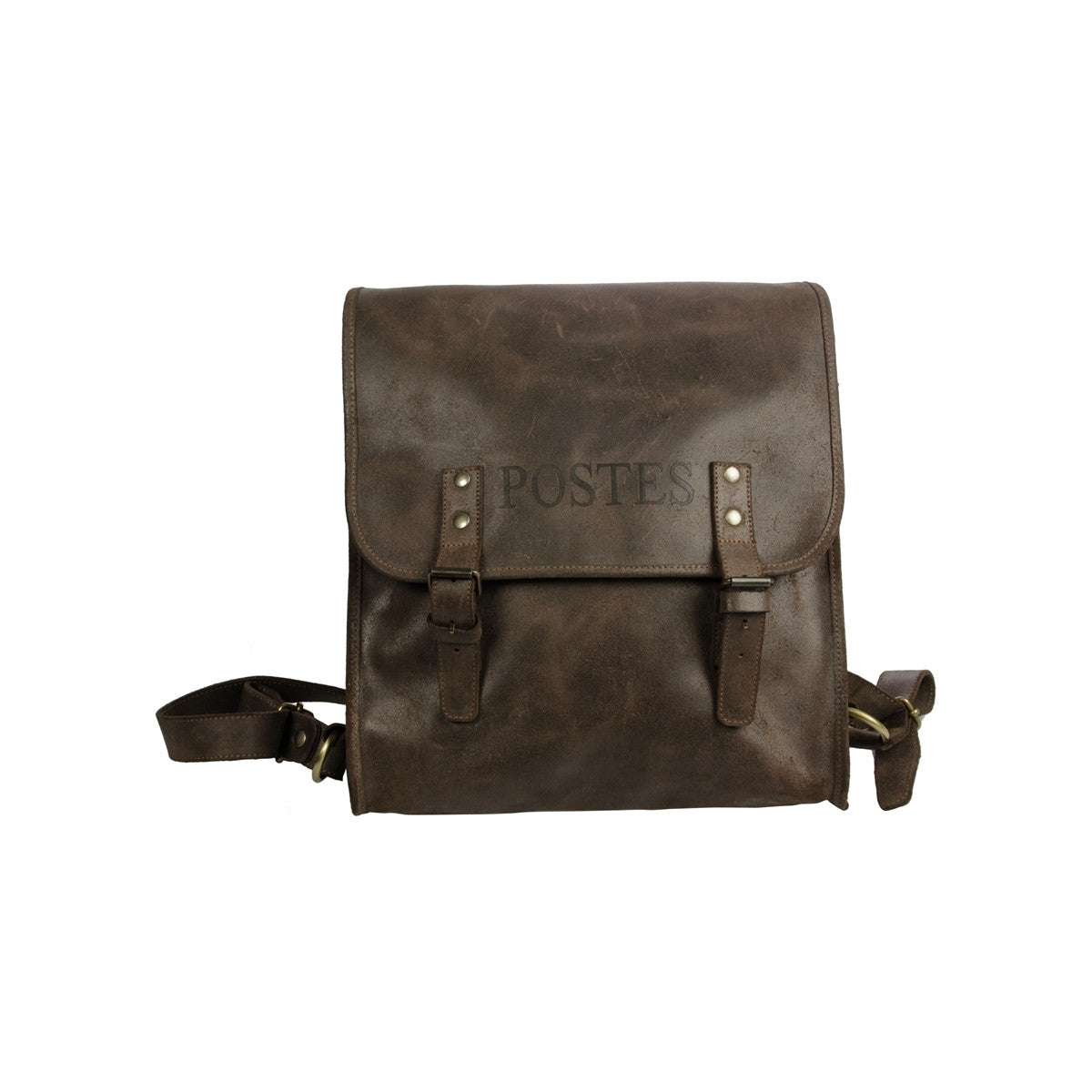 Grande Musette en Cuir Made in France par CODE POSTAL