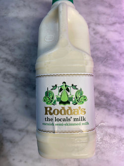 2litre Cornish semi-skimmed Milk