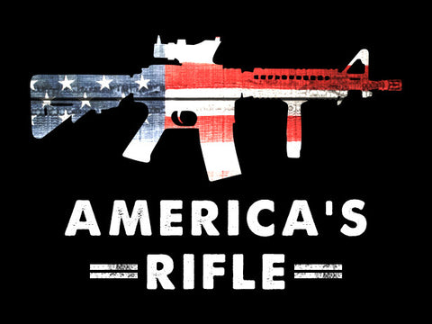 America's Rifle Sticker