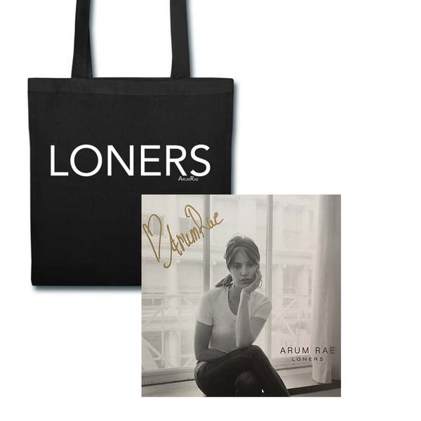 Signed Vinyl and Tote Bag (Exclusive Bundle)