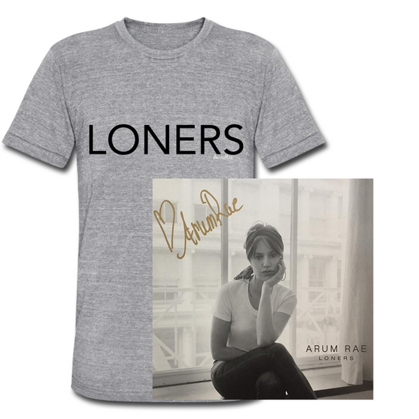 Signed Vinyl and Loners Tee (Exclusive Bundle)