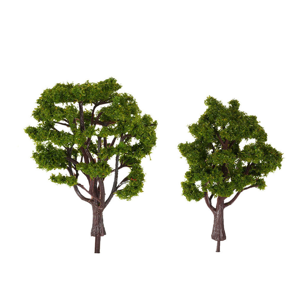 handcrafted tree model architectural model for train layout garden