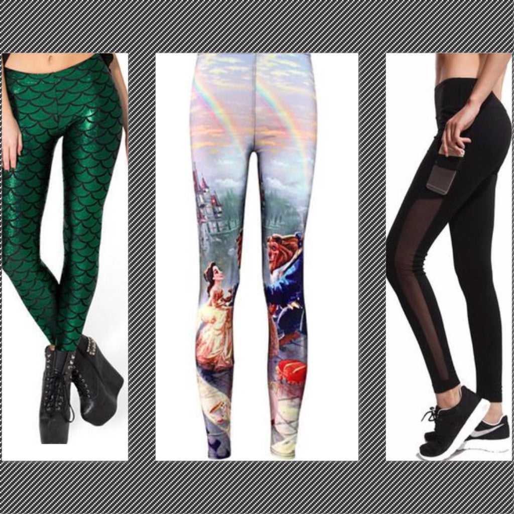 The 6 Hottest Legging Trends for 2017