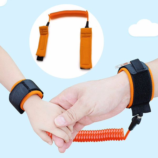 1Pc Toddler & Kids Safety Harness Child Leash Anti Lost Wrist Link Traction Rope