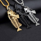 Fish bone Pendant Necklace (50% OFf + FREE shipping)