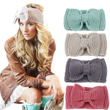 Handmade Crotchet Bow Head Warmer (FREE SHIPPING FOR LIMITED TIME)