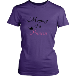Mommy of a Princess Tee