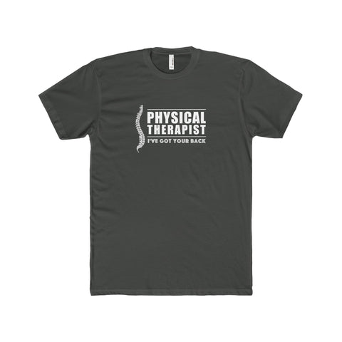 """Physical Therapist - I've Got Your Back"" - Men's Premium Fitted T-Shirt for $23.99 at Physioweb Store"