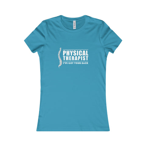 """Physical Therapist - I've Got Your Back"" - Women's T-shirt for $22.99 at Physioweb Store"