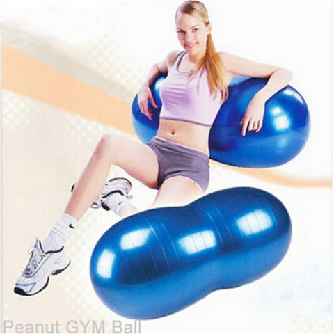 90*45cm Peanut-shaped Exercise Ball