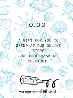 gift voucher plastic-free gifts/presents