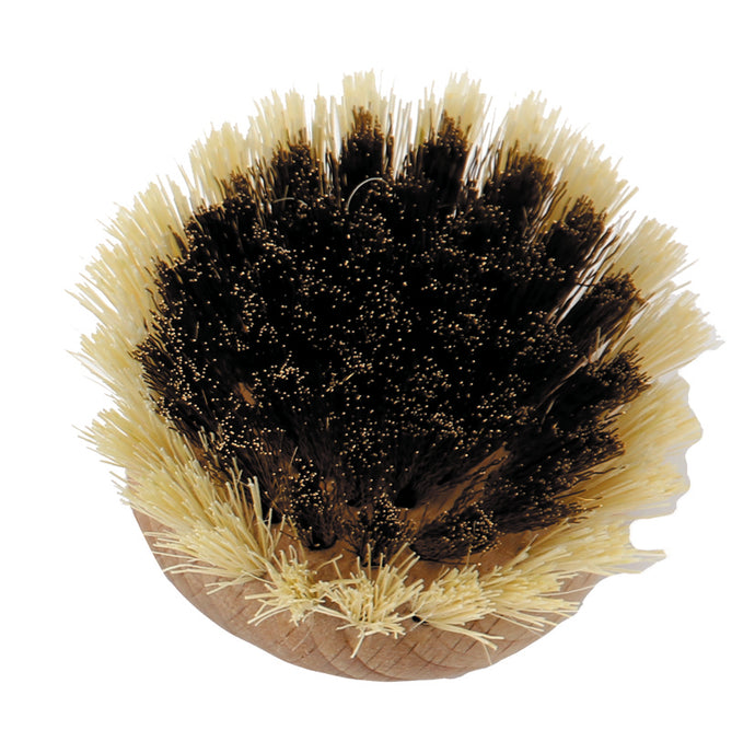 natural fibre/copper replacement head for washing up brush