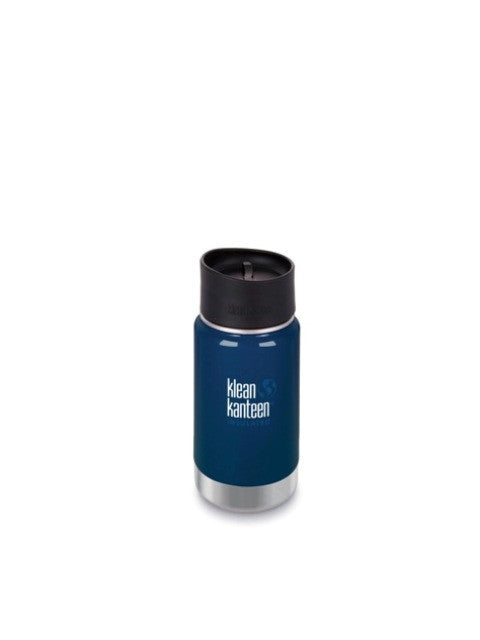 Klean Kanteen insulated coffee cup with leak proof lid 355ml (12oz ). Various colours.