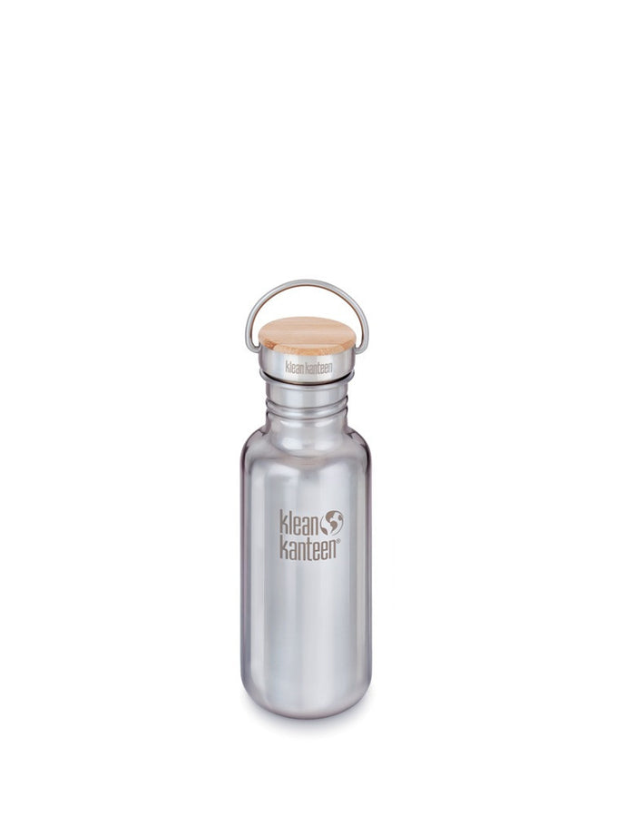 Klean Kanteen stainless steel Reflect water bottle 18fl oz mirrored