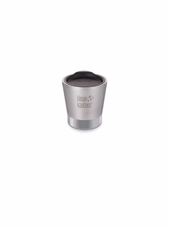Klean Kanteen insulated 237ml (8oz) tumbler (brushed stainless/shale black)