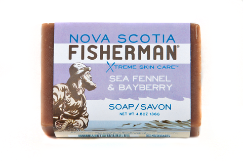 Nova Scotia Bayberry and Sea fennel soap-plastic free