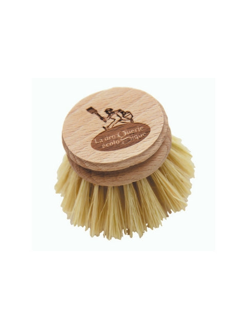natural fibre washing up brush. No plastic- zero waste